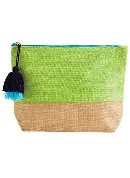 Mudpie Green Color Pop Zip Case