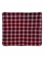 Boxercraft Navy & Red Flannel Blanket