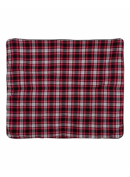 Boxercraft Navy & Red Flannel Blanket