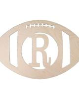 Wholesale Boutique Wood Football Monogram