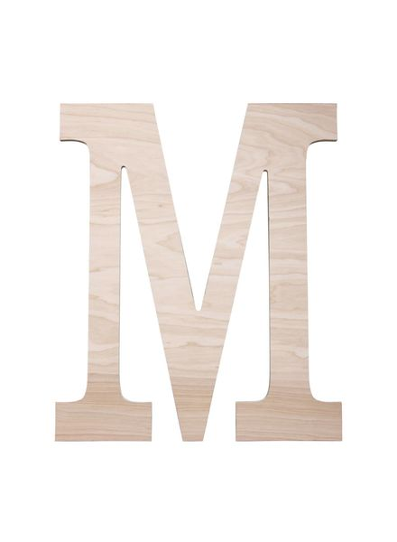 Wholesale Boutique Wood Wall Classic Initial