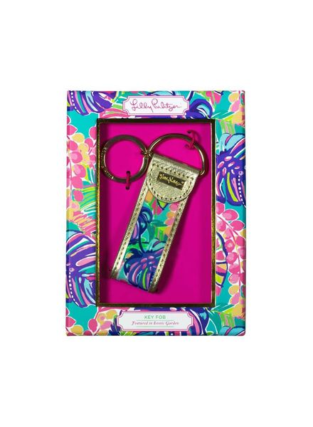 Lilly Pulitzer Exotic Garden Key Fob