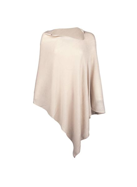 Wholesale Boutique Cream Chelsea Poncho