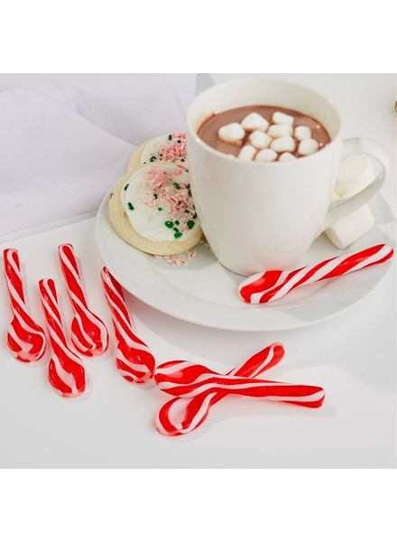 Two's Company Peppermint Swirl Spoons