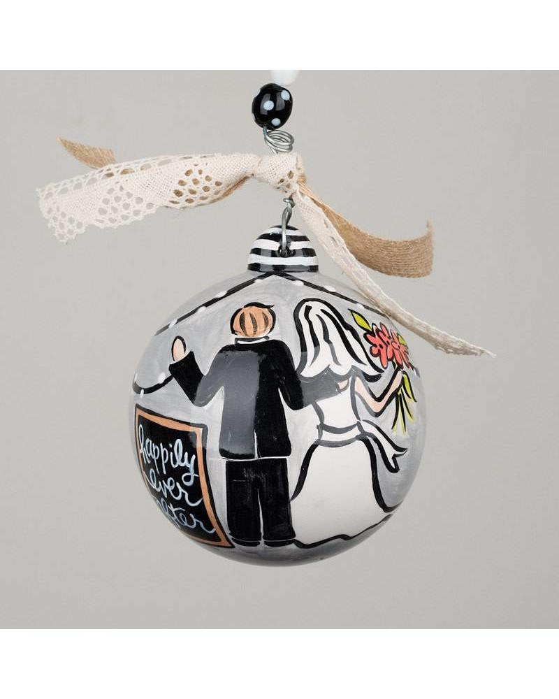 Glory Haus Ceramic Ornament - Happily Ever After - Initial Styles ...