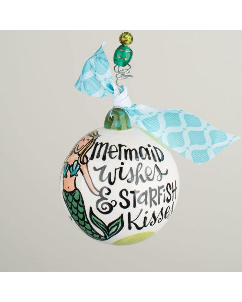 Glory Haus Ornament - Mermaid Kisses - Initial Styles Jupiter