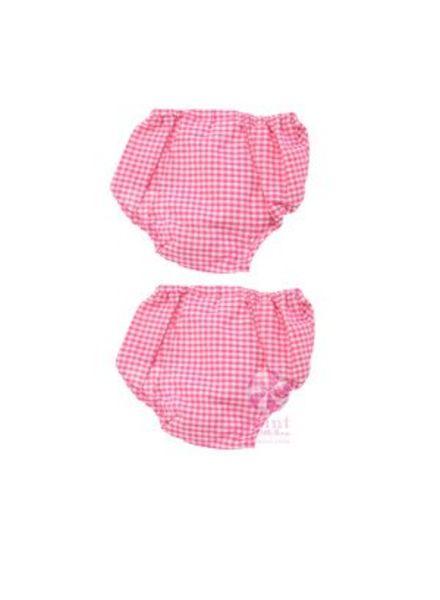 Mint Hot Pink Gingham Bloomers
