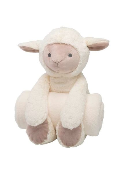Elegant Baby Lamb Bedtime Huggie