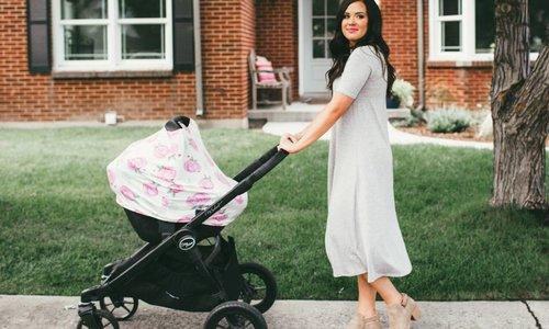 5 In 1 Car Seat Nursing Shopping Cart Covers