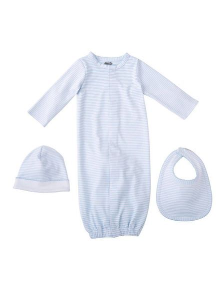 Mudpie Blue Layette Gift Set