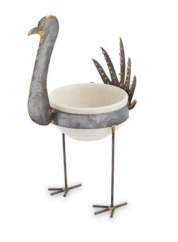 Mudpie Tin Turkey Dip Cup