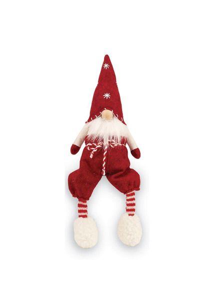 Mudpie Red Dangle Leg Gnome