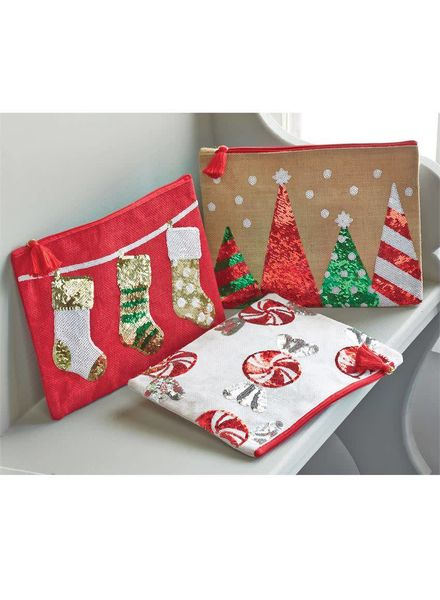 Mudpie Sequined Christmas Cases