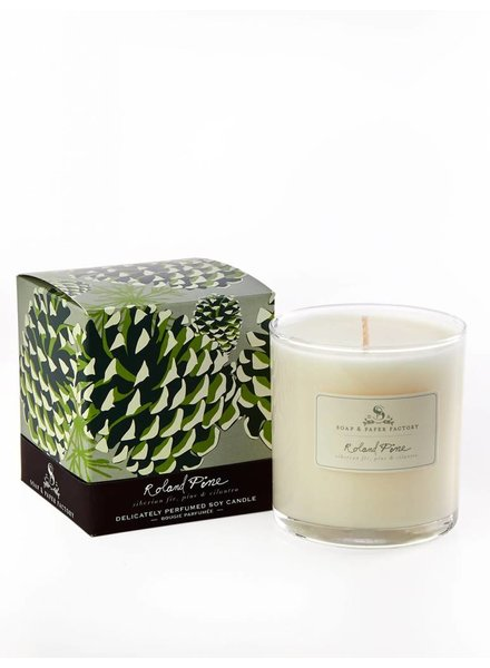 Soap & Paper Factory Roland Pine Soy Candle