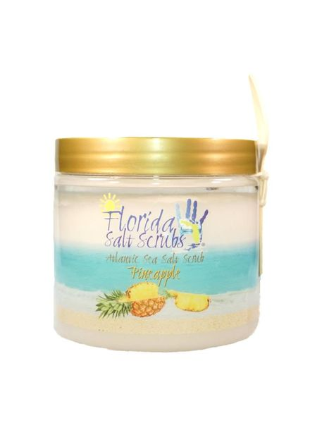 Florida Salt Scrubs Large Pineapple Salt Scrub