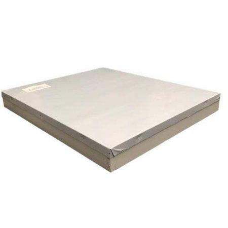 8 Frame White Telescoping Cover w/o Inner Cover