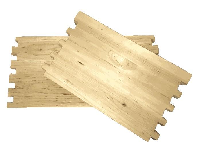 10 Frame Deep Unassembled Cypress Hive Box