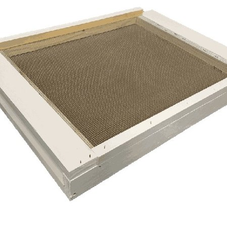 10 Frame White Varroa Screen Bottom Board w/ Drawer and ER