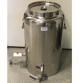 20 gallon Stainless Heated Honey Tank