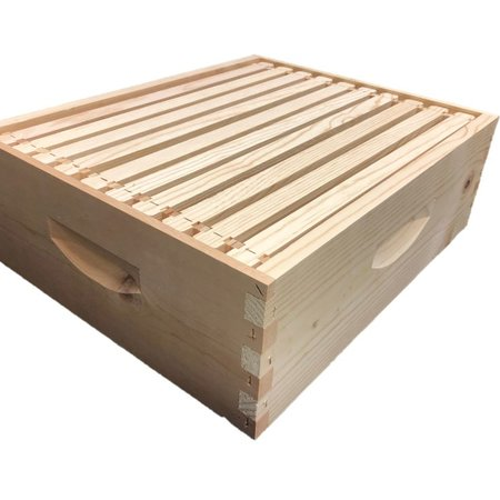 10 Frame Med Assembled Unfinished Hive Combo w/Frames & Foundation