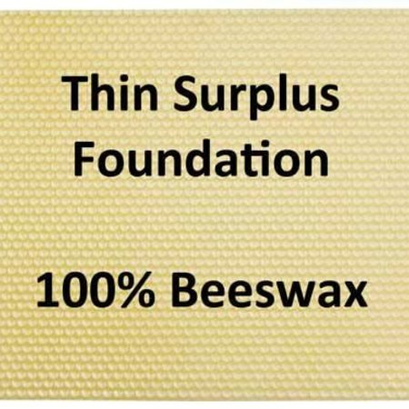 Shallow Cut Comb Honey Foundation 10 sheets