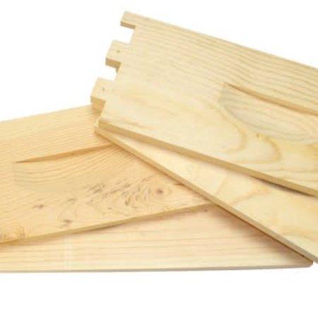 10 Frame Unassembled Pine Shallow Hive Box