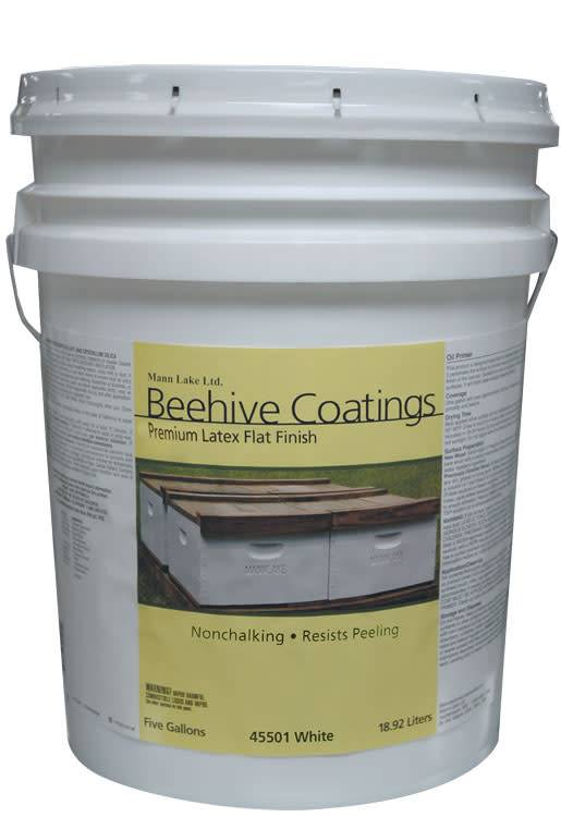 Paint - Quick Coat Beehive Stain White - 5 Gallons