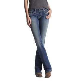 Ariat Ariat R.E.A.L Mid Rise Entwined Boot Cut Marine Jean
