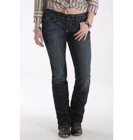 Cruel Denim Cruel Denim Abby Mid Rise Dark Rinse Slim Boot Cut Jean