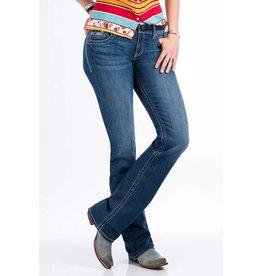 Cruel Denim Cruel Denim Abby Mid Rise Slim Fit Medium Stonewash Jean