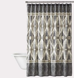 Pendleton Woolen Mills Graphite Pecos Shower Curtain