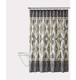 Pendleton Woolen Mills Graphite Pecos Shower Curtain