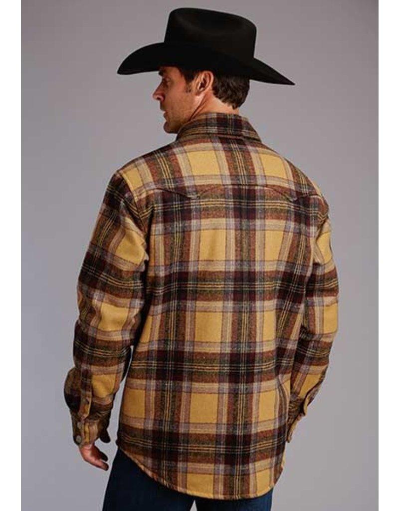 Stetson Stetson Wool Blend Quilted Shirt Jacket