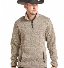 Powder River Outfitters Powder River Quarter Zip Fleece Pullover