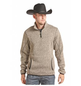 Powder River Outfitters Powder River Quarter Zip Fleece Pullover