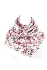 Whipin Wild Rags Grace Pink Floral Wild Rag