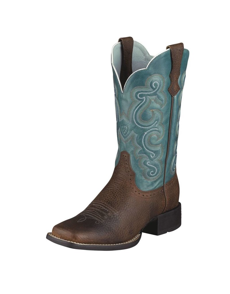 Ariat Ariat Women's Brown Oiled Rowdy Quickdraw Boots