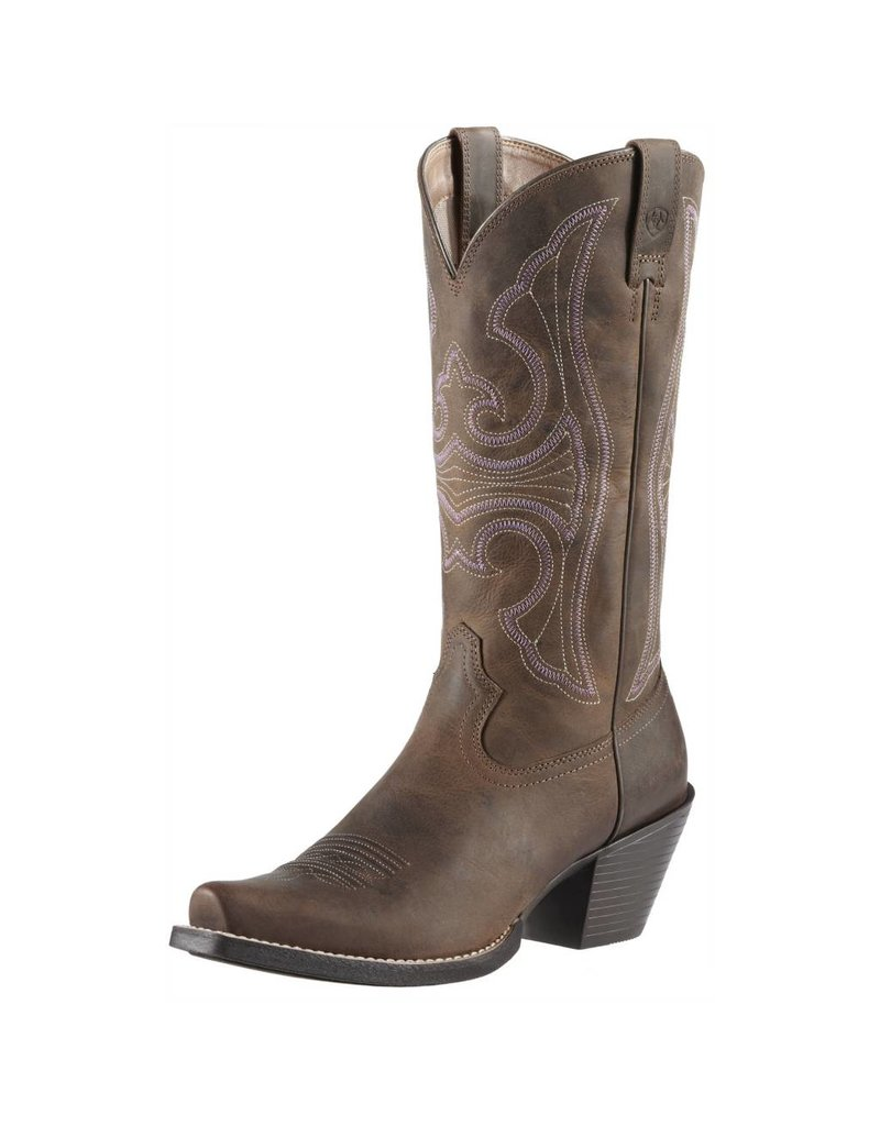 Ariat Ariat Women's Distressed Brown Round Up D Toe Boots