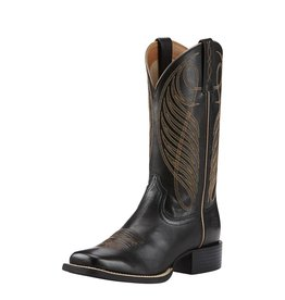 Ariat Ariat Women's Limousin Black Round Up Wide Square Toe Boots