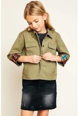 Hayden Multi Pocket Youth Cargo Jacket