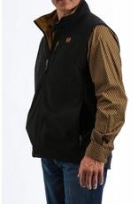 Cinch Cinch Men's Black & Gold Bonded Vest