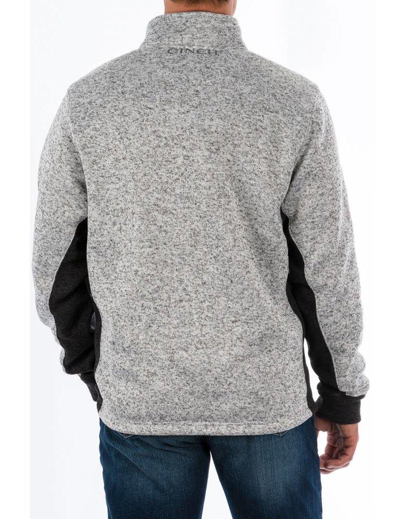 Cinch Cinch Men's Heather Gray 1/4 Zip Pullover