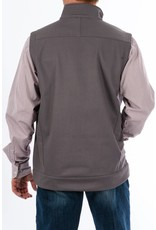 Cinch Cinch Men's Gray Solid Bonded Vest