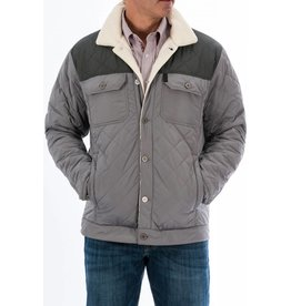 Cinch Cinch Men's Gray Quilted Jacket