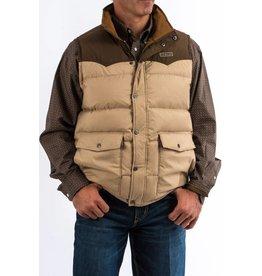 Cinch Cinch Men's Tan Quilted Down Vest