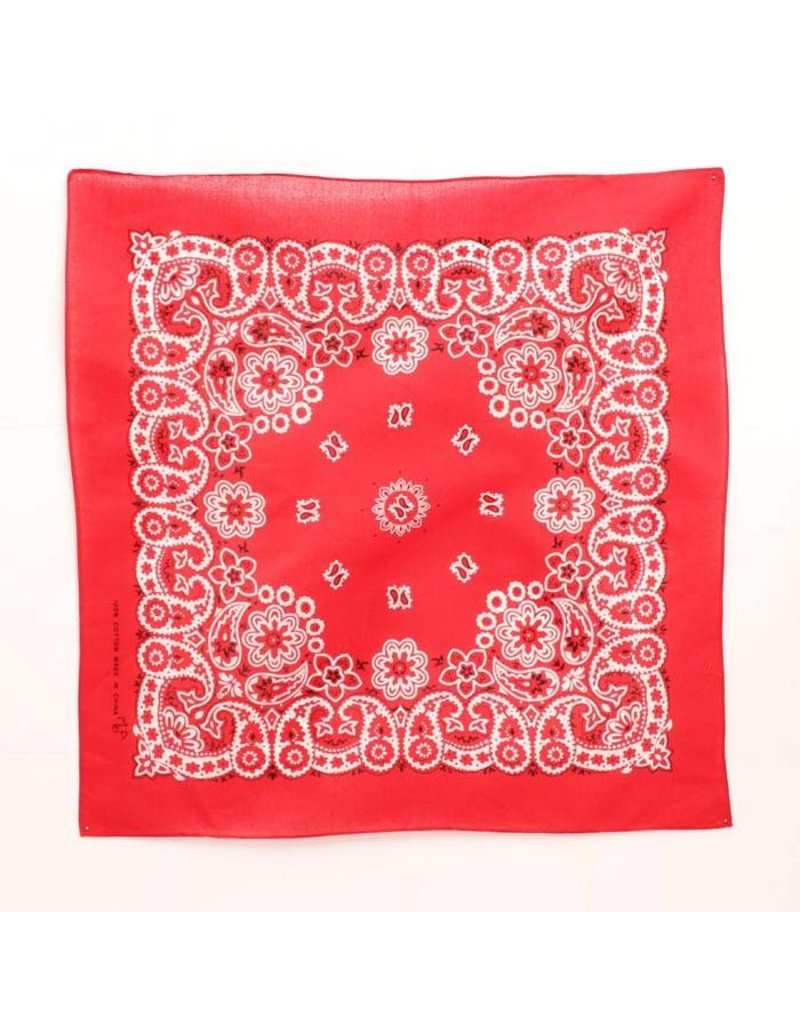M&F Western Products Red Original Bandana