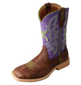 Hooey Twisted X Kid's Purple Hooey Boots
