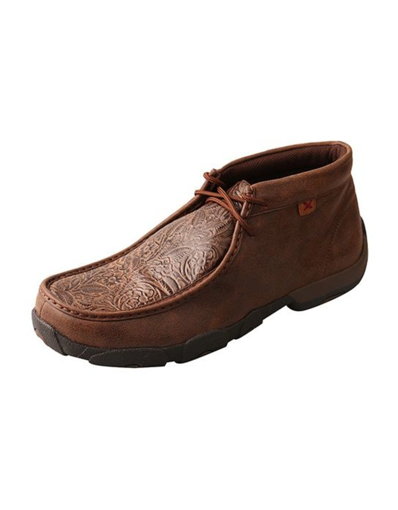 Twisted X Twisted X Men's Brown Print Driving Moccasins