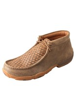 Twisted X Twisted X Men's Bomber Tan Weave Driving Moccasins