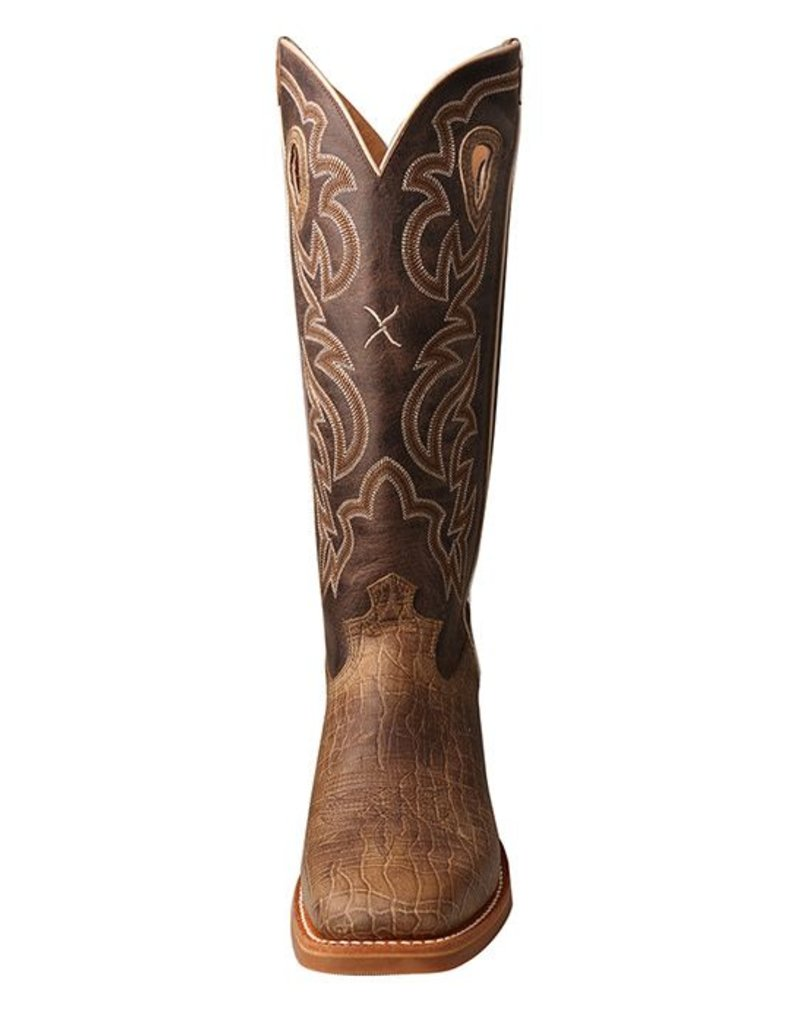 Twisted X Twisted X Men's Crazy Horse Taupe Buckaroo Boots